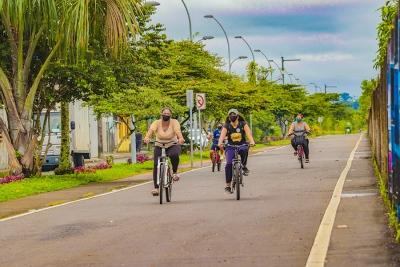 Nueva iluminación en la ciclovía