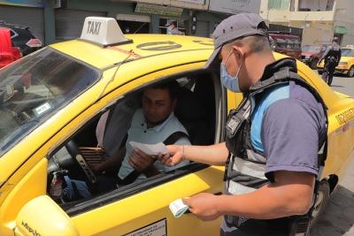 Agentes de Control y Mancomunidad de Tránsito realizan operativos