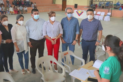 Brigada médica en García Moreno