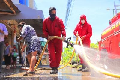 Minga de limpieza convocó a vecinos en Paraíso Amazónico