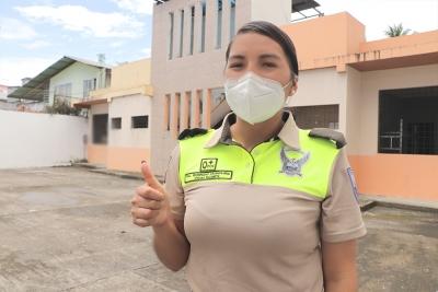 Varios policías recibieron atención en el APO