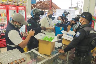 Operativos para controlar la venta ilegal de alcohol artesanal