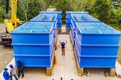 Nueva planta de agua para tres barrios populares