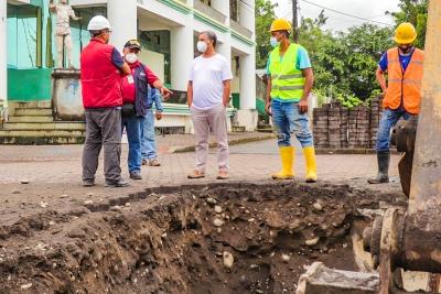 Inicia obra de regeneración de la calle Napo