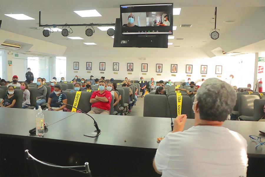 Socializan problemática de electricidad en el cantón Francisco de Orellana