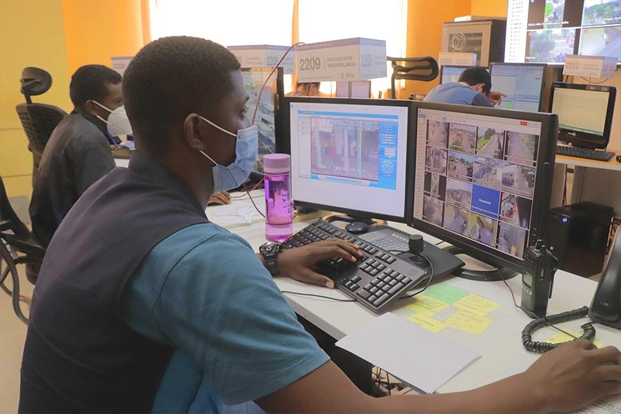 Megáfonos alertan cumplimiento de medidas de bioseguridad