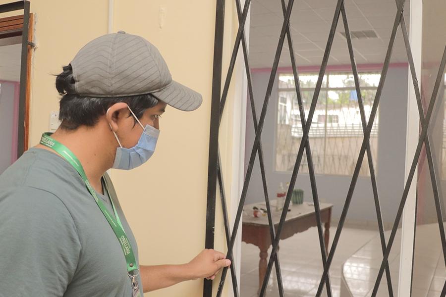 Barrio Unión y Progreso recibe casa barrial restructurada