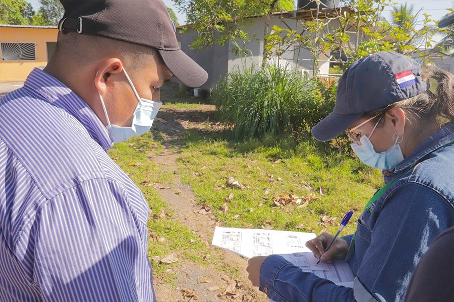 Se realizó censos de vivienda en sector Nestor Jiménez