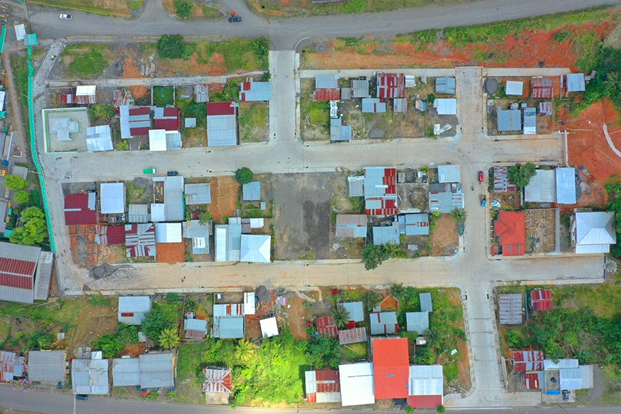 Moradores del barrio 8 de Diciembre ven un sueño convertirse en realidad