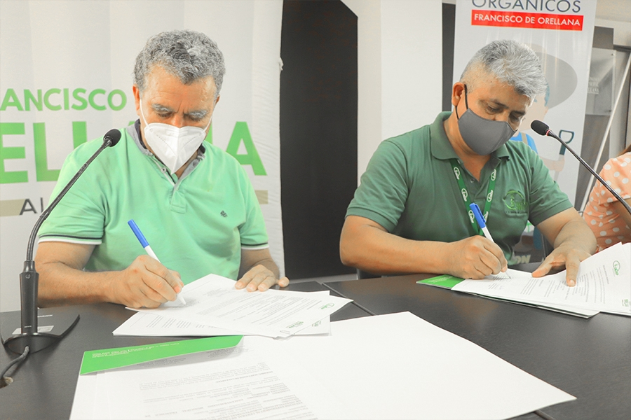 Municipio e INIAP firman convenio para fortalecer el agro
